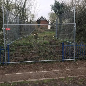 Work Start on the New Path April 2019