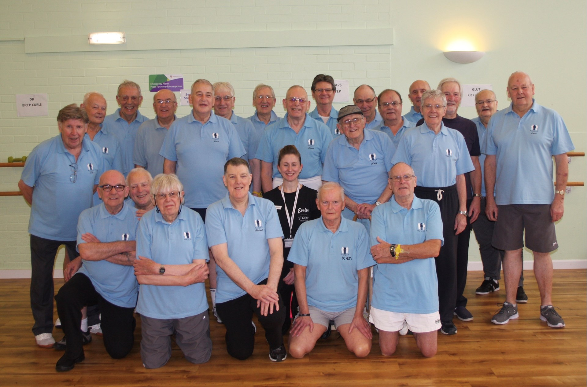 North Hampshire Prostate Cancer Support Group Exercise Group