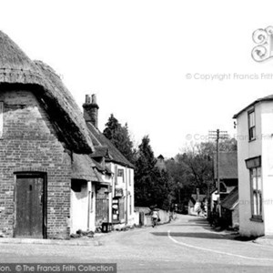 West Meon Cross Roads 1955
