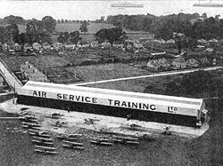 'B' Hangar, early 1930s