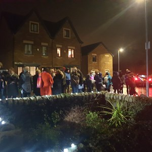 Salterforth Parish Council and Village Carols at Jinny Well 2019