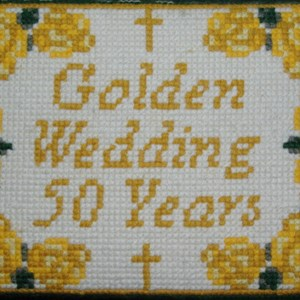 Golden wedding of Barrie and Betty Wilson