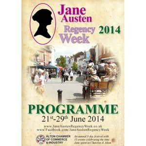 2014 Jane Austen Regency Week Programme