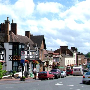 Broseley High St. ctredit: Jan Lancaster
