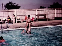 Lordsfield Swimming Club 1970s