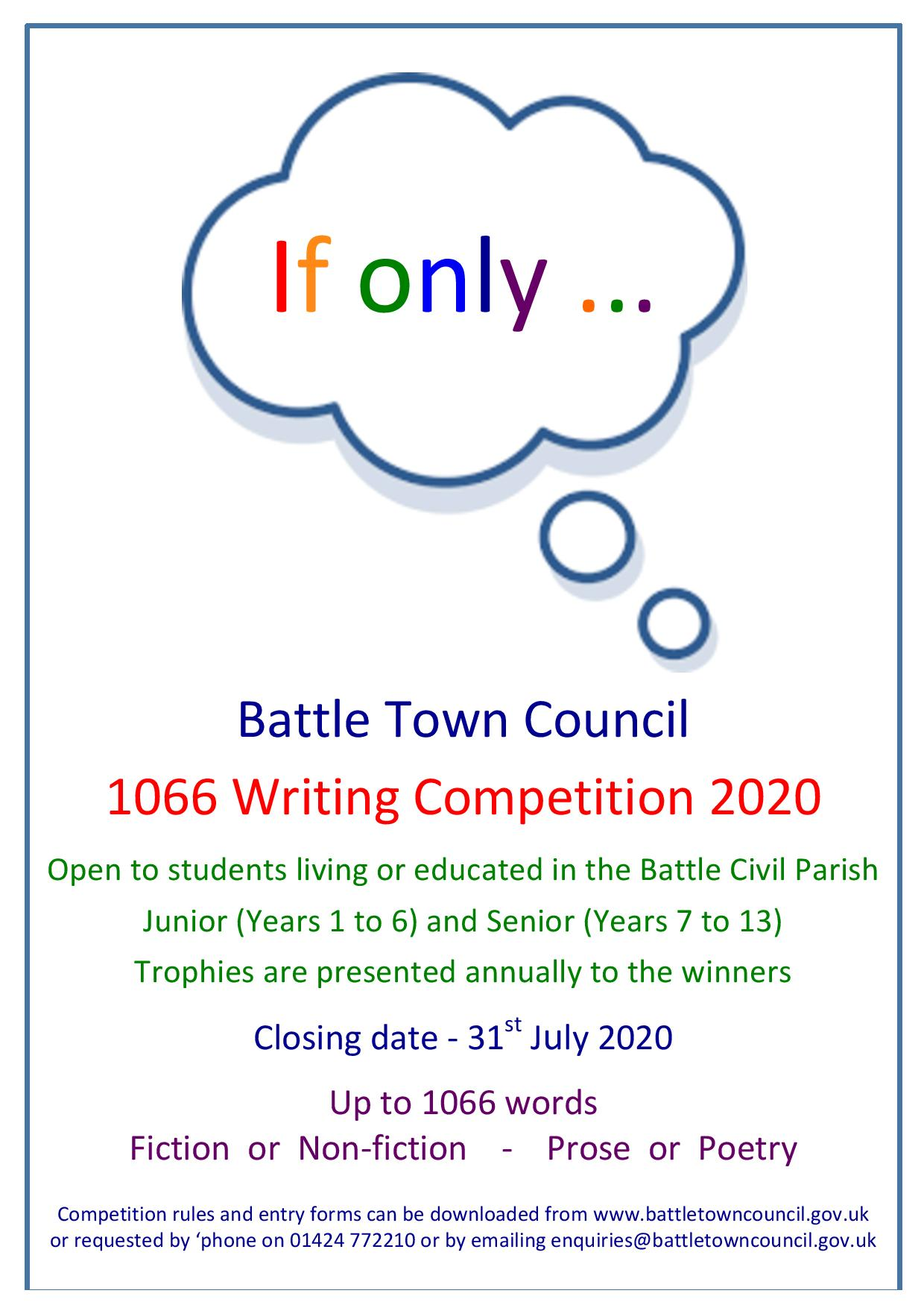 Battle Town Council Writing Competition
