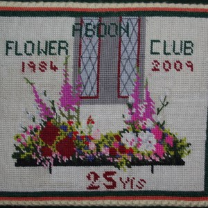 Abdon Flower Club 25 years
