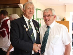 President William Greenway & President Alan Guest