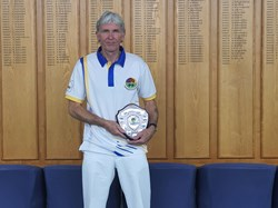 Novices Singles runner up - Kevin Masters