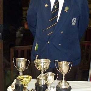Ted Castle - Club Champion 2010