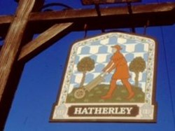 1990 Hatherley Inn sign before renaming