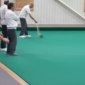 Great to see a bowling arm in action