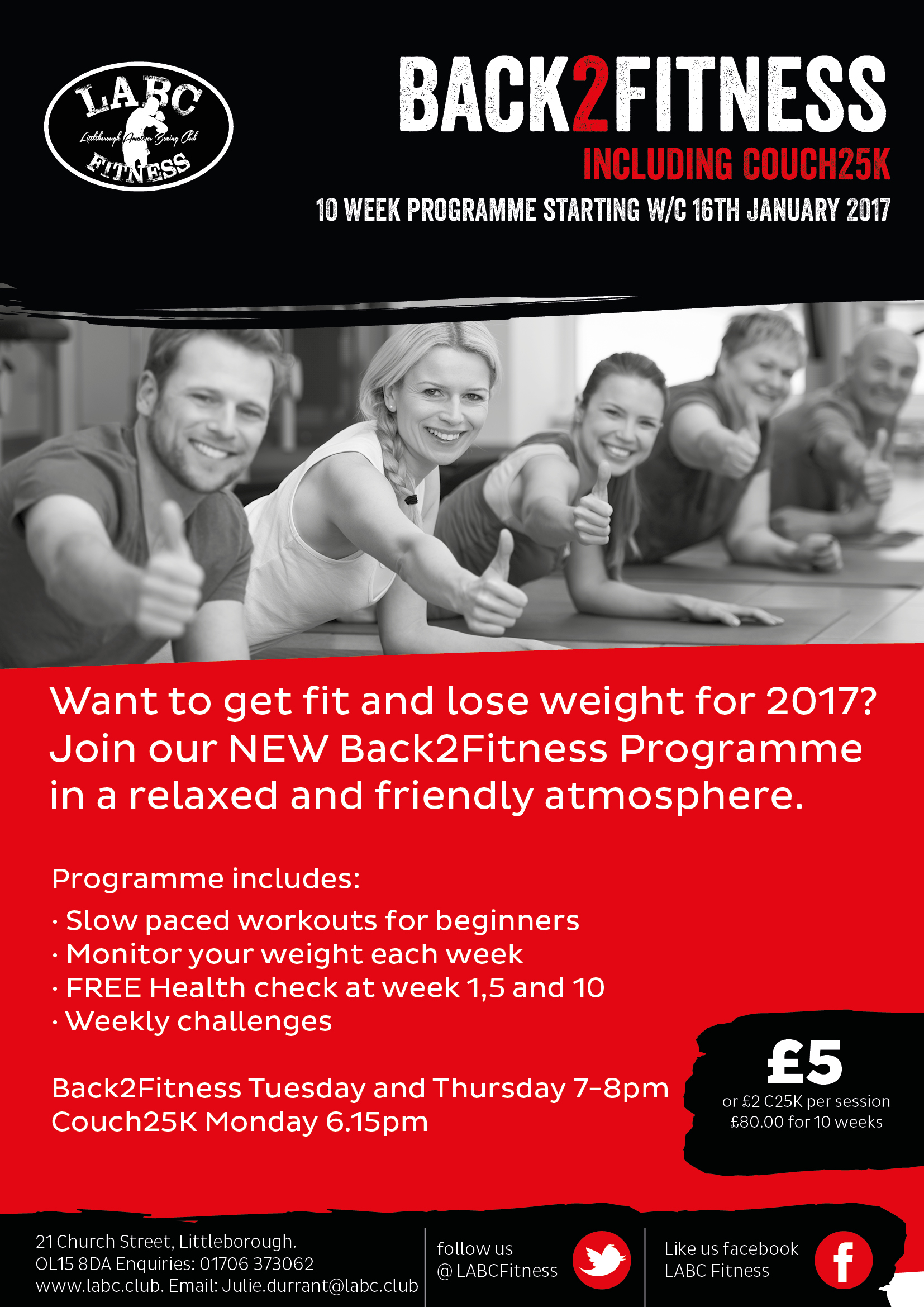 Littleborough Boxing & Fitness Club Back2Fitness