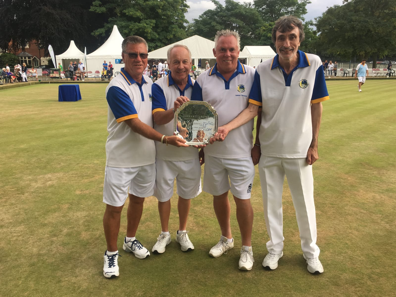 National Senior Fours Winners, Kevin Embling, Graham Richards, Alan Small, Dave Snell