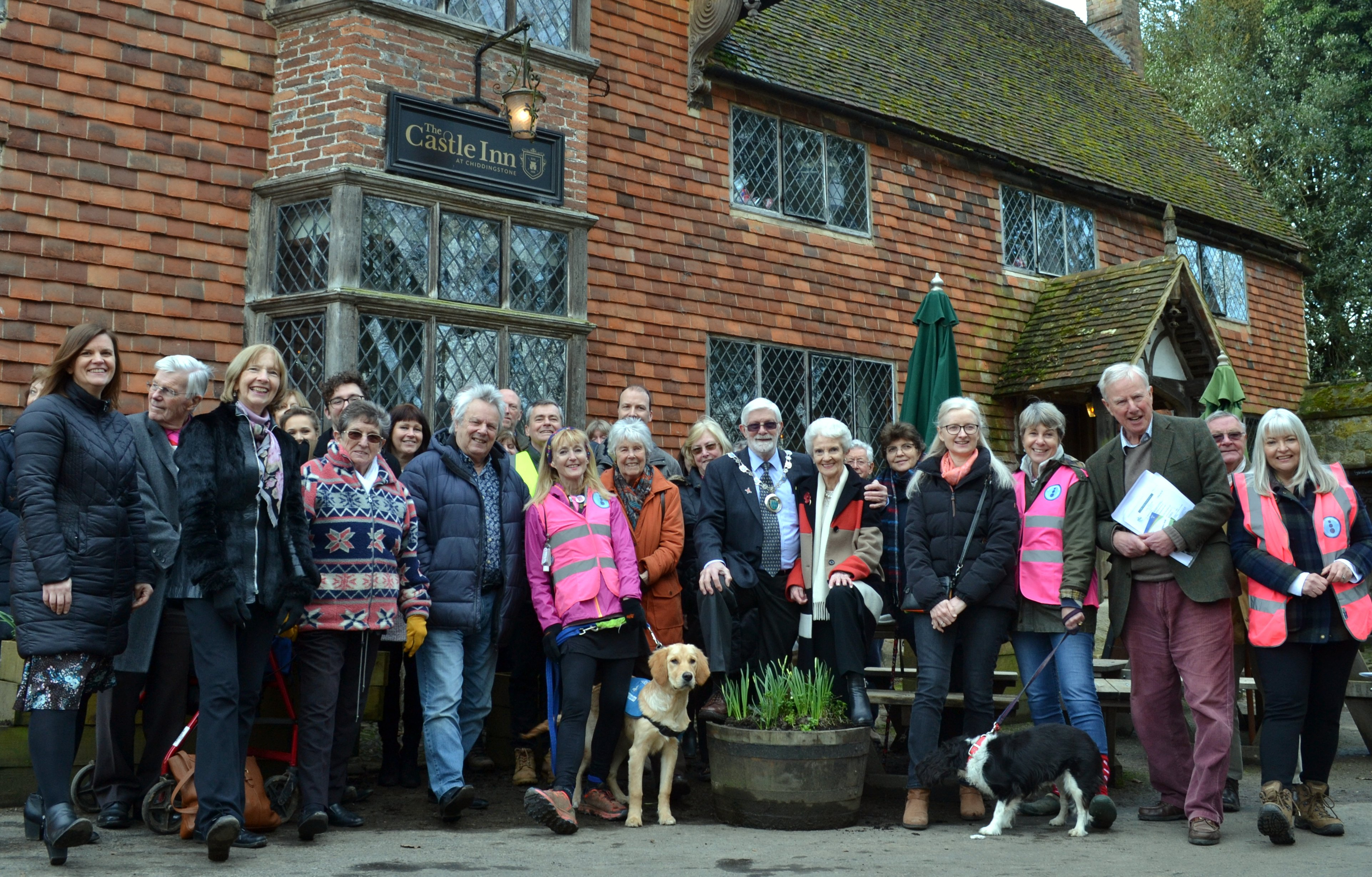 Launch of our Chiddingston Walk