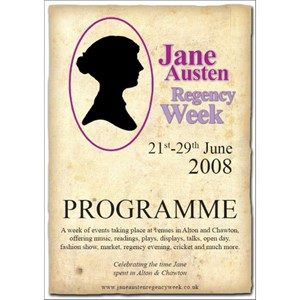 2008 Jane Austen Regency Week Programme