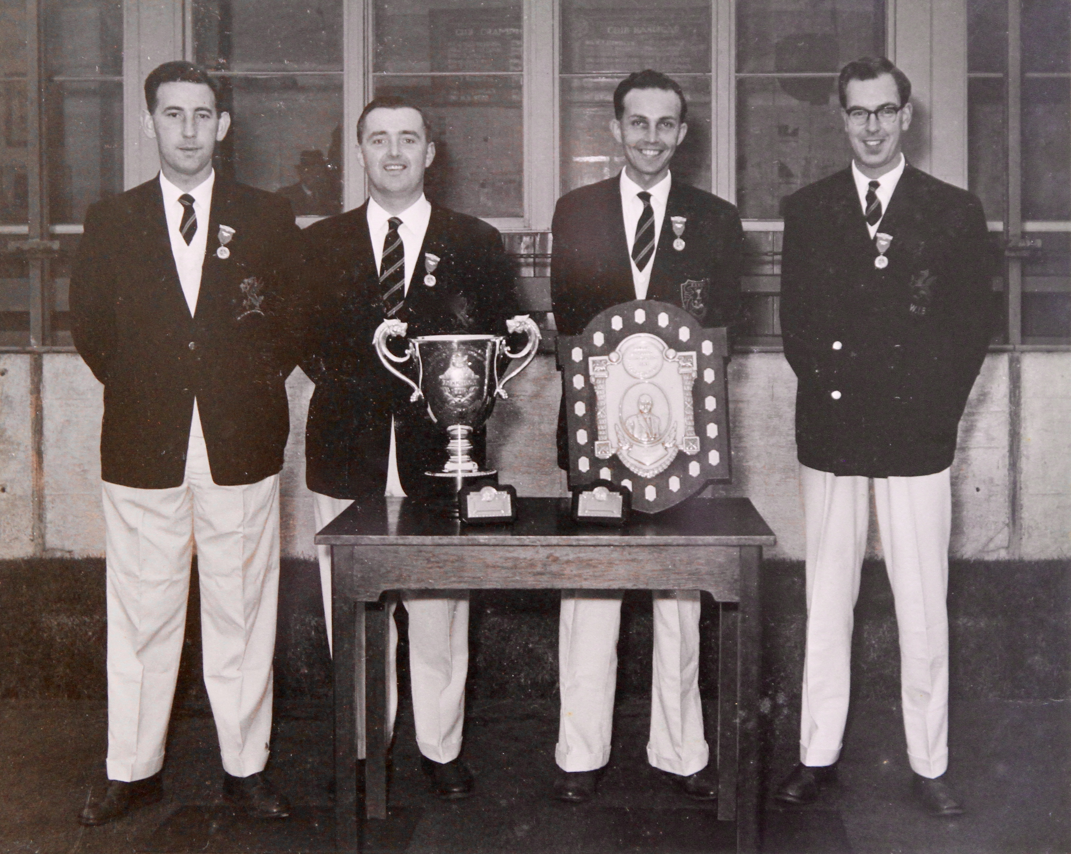 Welsh & British Isles Fours Champions 1963