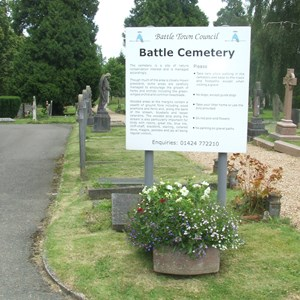 Cemetery, Battle Town Council