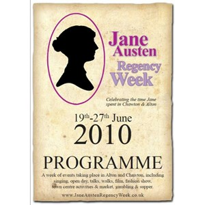 2010 Jane Austen Regency Week Programme