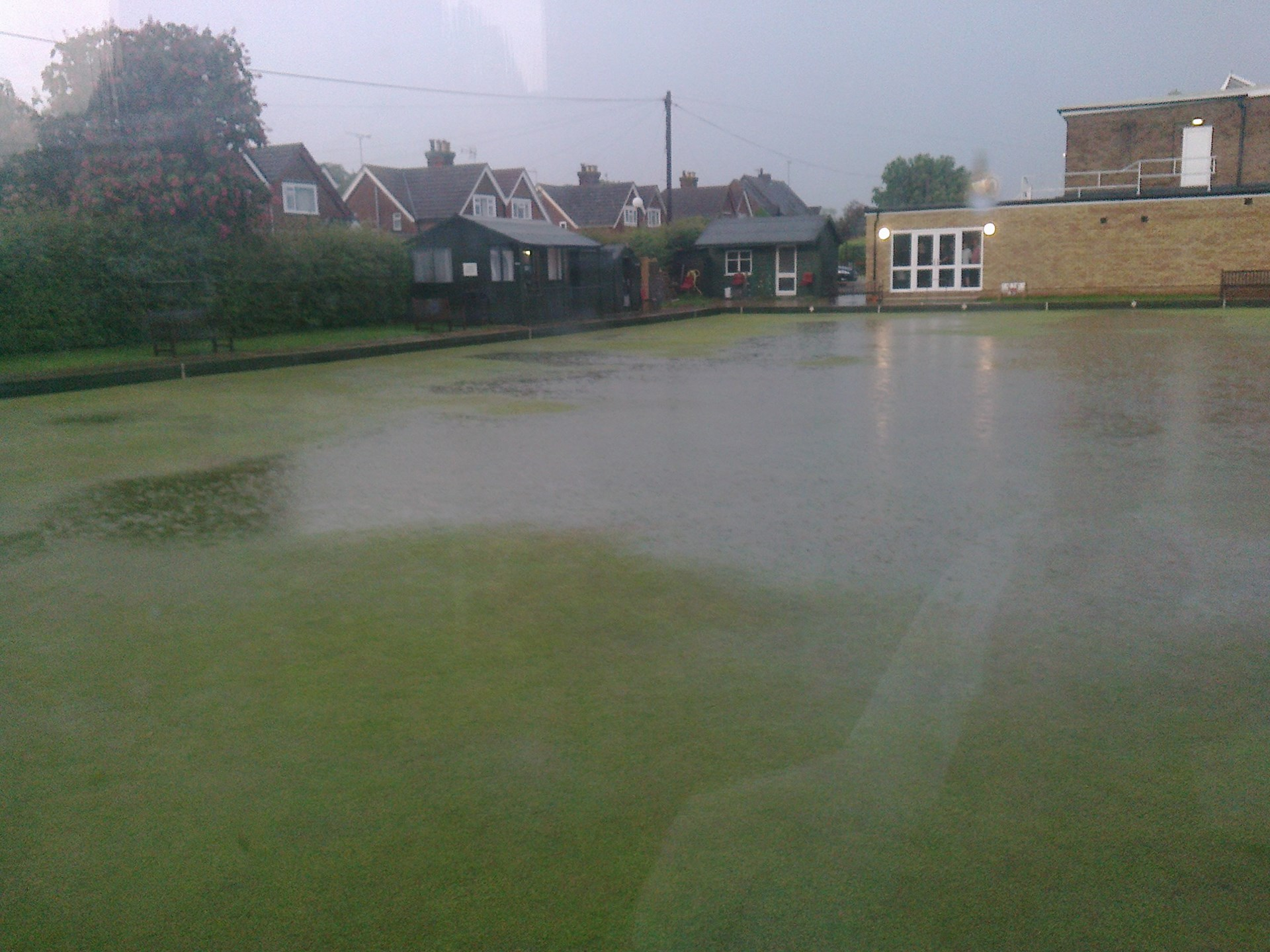 Our flooded green on 30th May 2012!