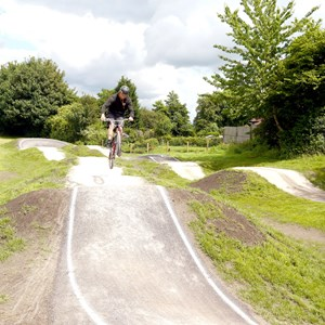 BMX Track, Broseley. credit: Jan Lancaster