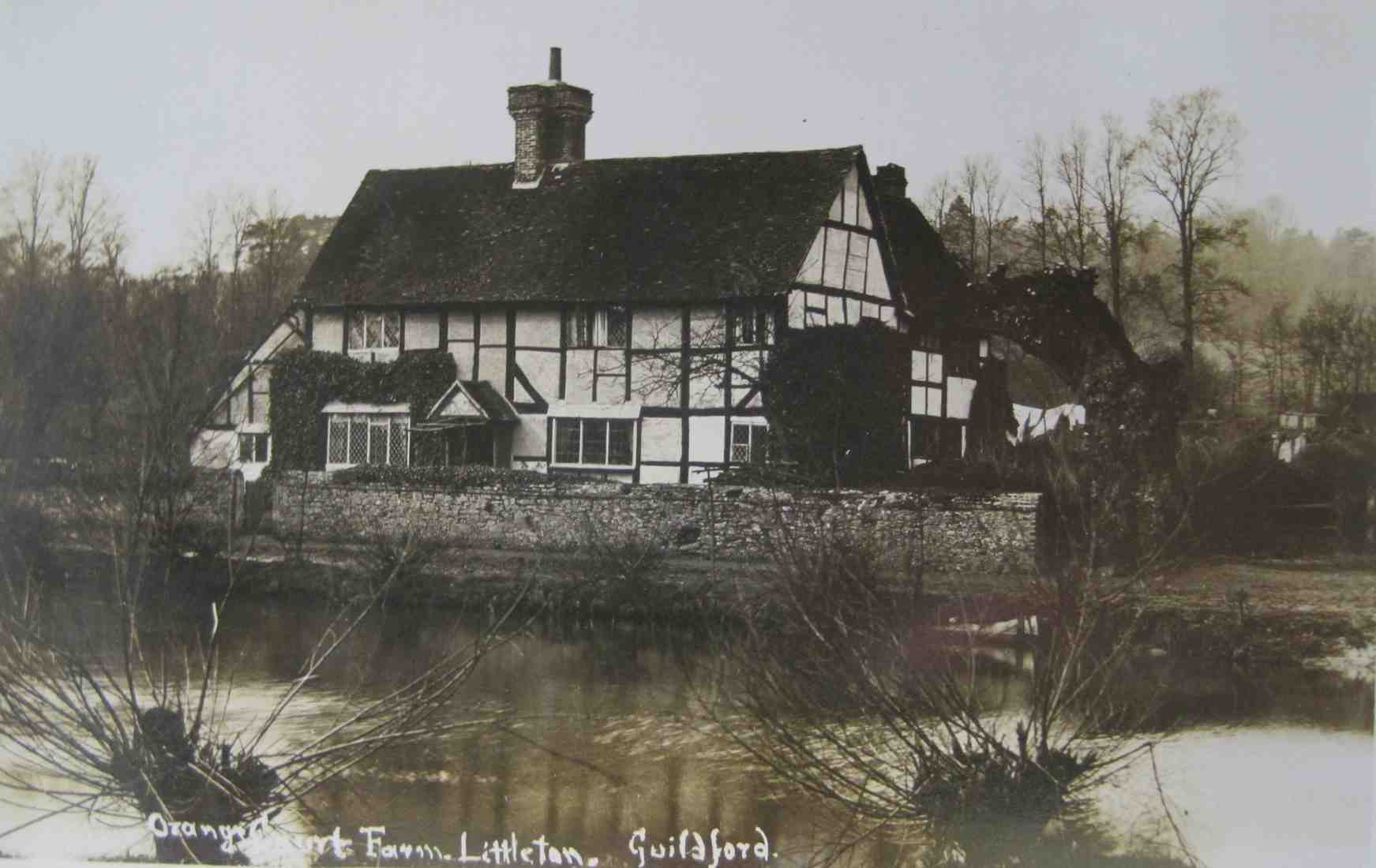 Littleton Farm House in the early 20th century.