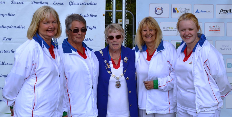 Ladies Fours National Finalists 2013 & 2016