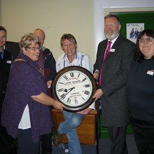 Friends of Alton Station John Walker Clock