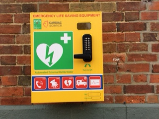 Rockland St Mary with Hellington Parish Council Defibrillators