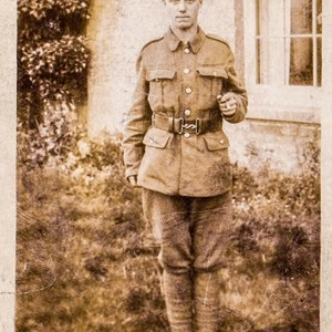 Edward Septimus Batchelor age 16 in 1918 serving in the East Surreys