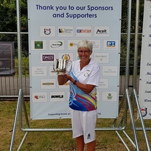 National Over 55 Singles Winner S. Allen