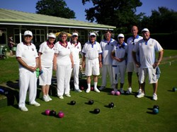 Cranleigh Bowls Club Presidents Day (Alan Still 2015)