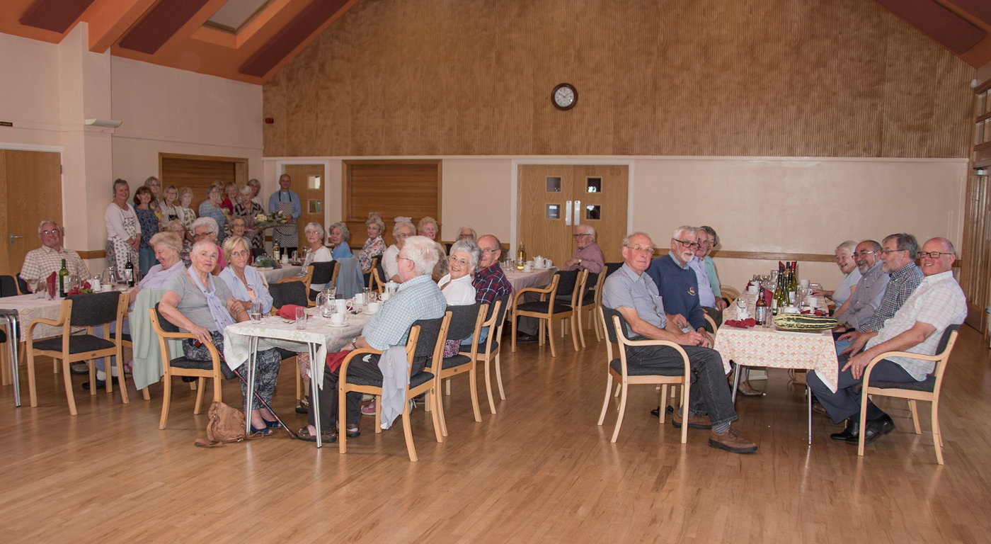 Over 60's Lunch Club, Little Wenlock Parish Council