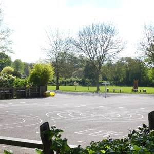 School playground at Infant School