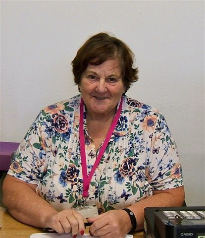 Volunteer Receptionist: Sue Tams