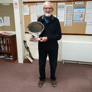 Singles Plate Winner - Gordon Edgar.