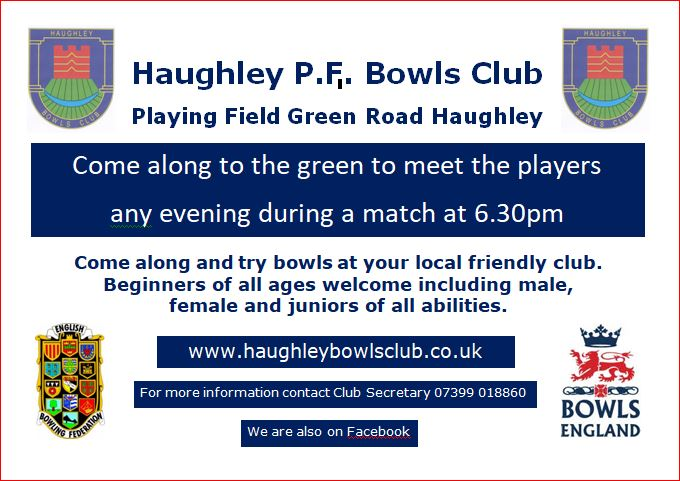 Haughley Playing Field Bowls Club Join our Club