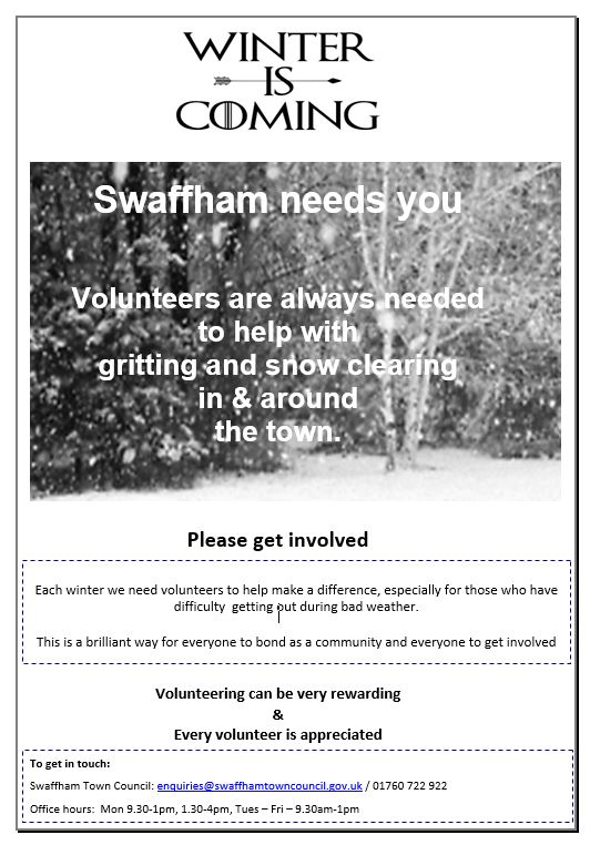 Swaffham Town Council Swaffham Volunteer Hub