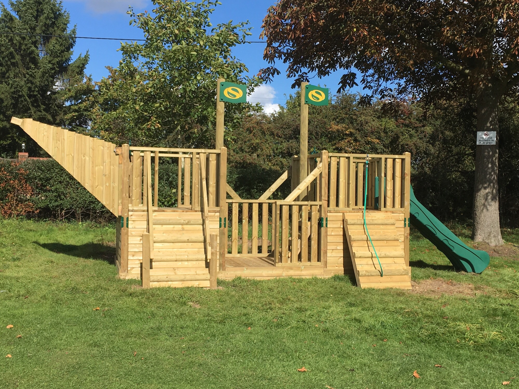 The Brig - the new play equipment