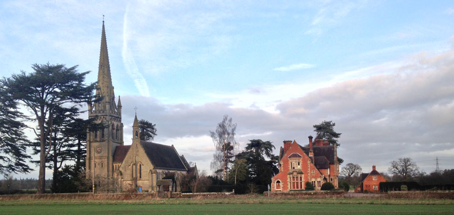 Leaton Church and Vicarage