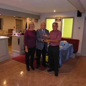 Mixed Pairs winners - Pat Bodily, Neville Bodily