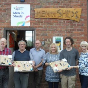 Men in Sheds Hartford Fidget Boards
