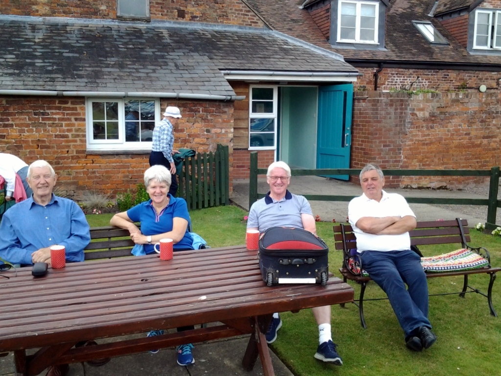 MWBC members enjoying the hospitality of Atcham Malthouse Bowling Club - 25th June 2017