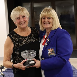 Gill Coombs Womens Player of the year