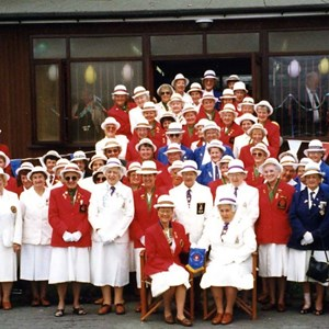 English Womens Bowling Association visit to Lancashire - 1996