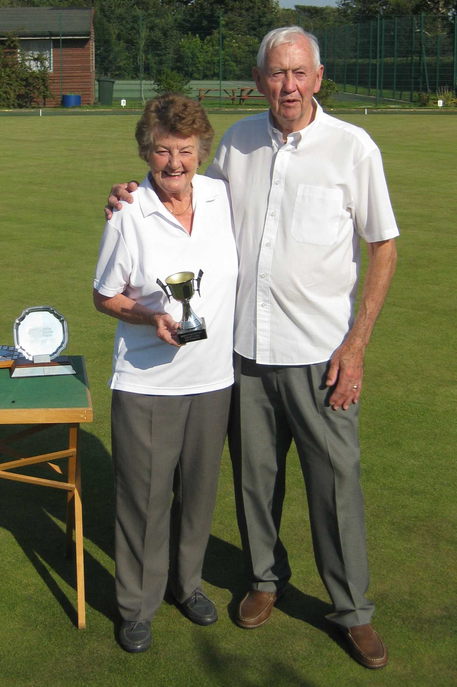 Mixed Pairs Runners-Up