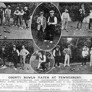 1912. Gloucestershire v Oxfordshire July 12th.