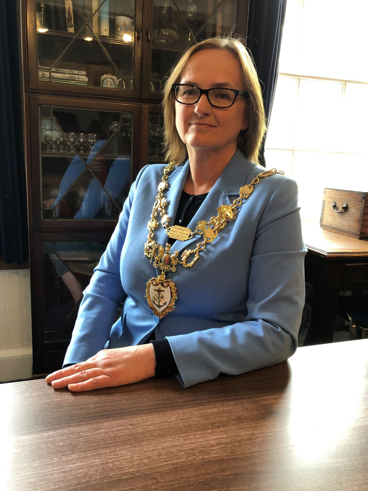 Councillor Anna Coleman, Mayor of Bewdley