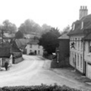 West Meon Red Lion Hill 1955