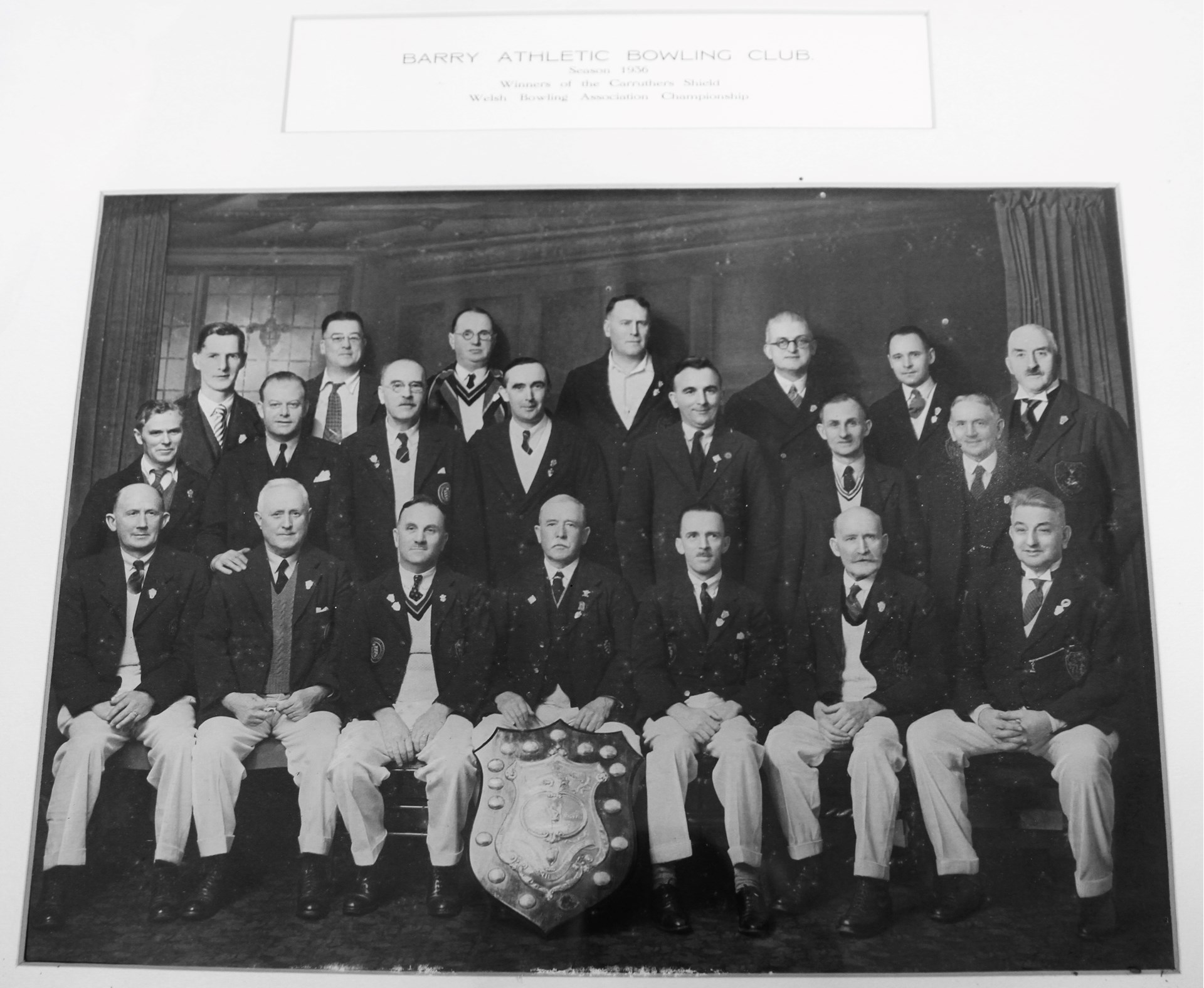 Caruthers Shield Winners 1936